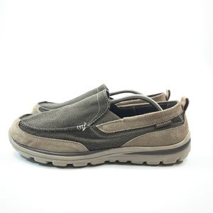 Skechers superior Milford LTBR Size 12 EWW